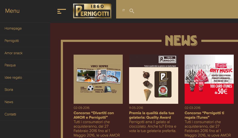 sito Pernigotti – Sottomarini Digital