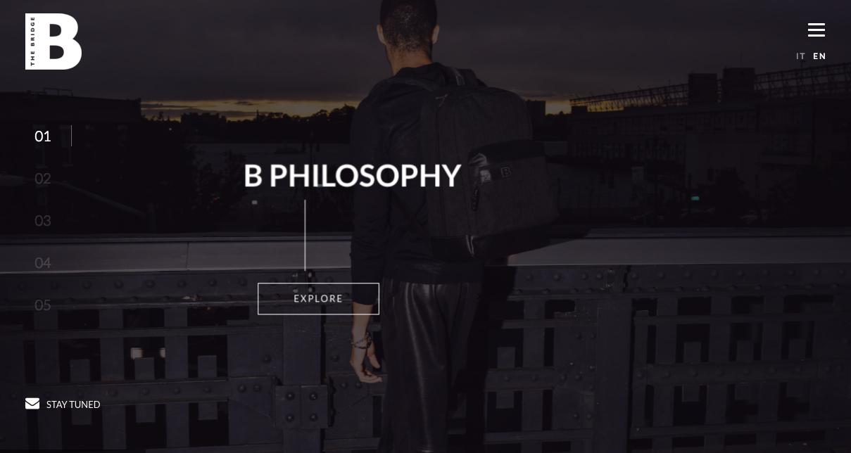 B The Bridge Sottomarini – Website – Lorenzo Marini Group